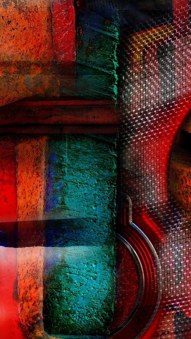 48 Abstract Art Phone Wallpaper On Wallpapersafari