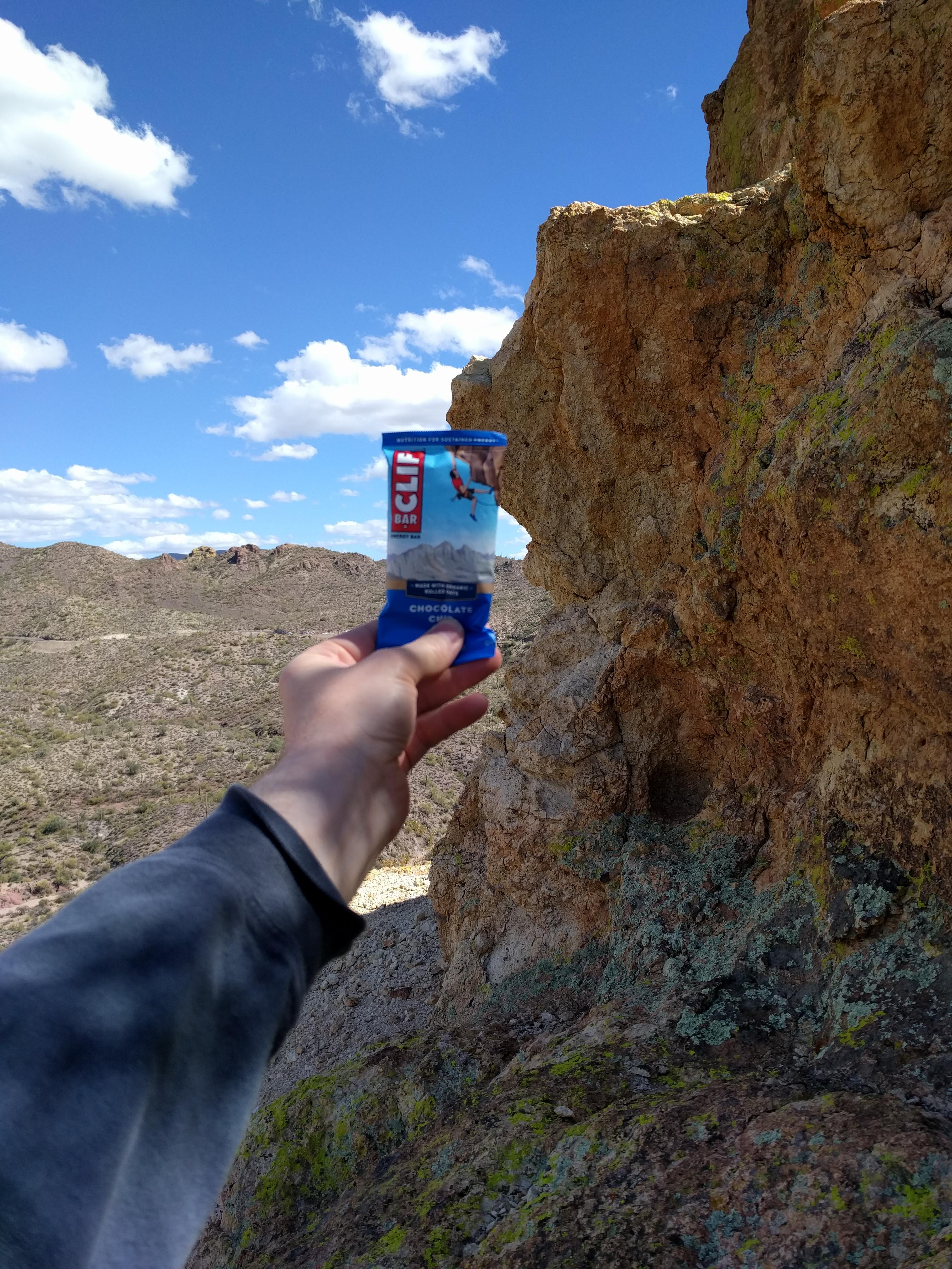 Found the cliff this Clif bar came from mildlyinteresting 3024x4032