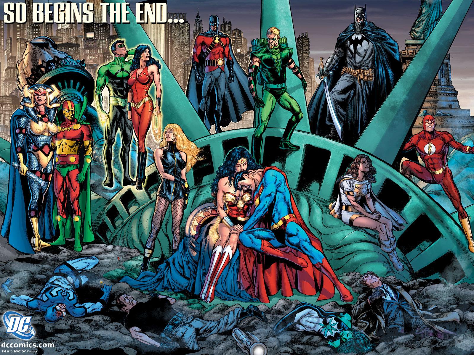 So Begins The End   DC Comics Wallpaper 4206733 1600x1200