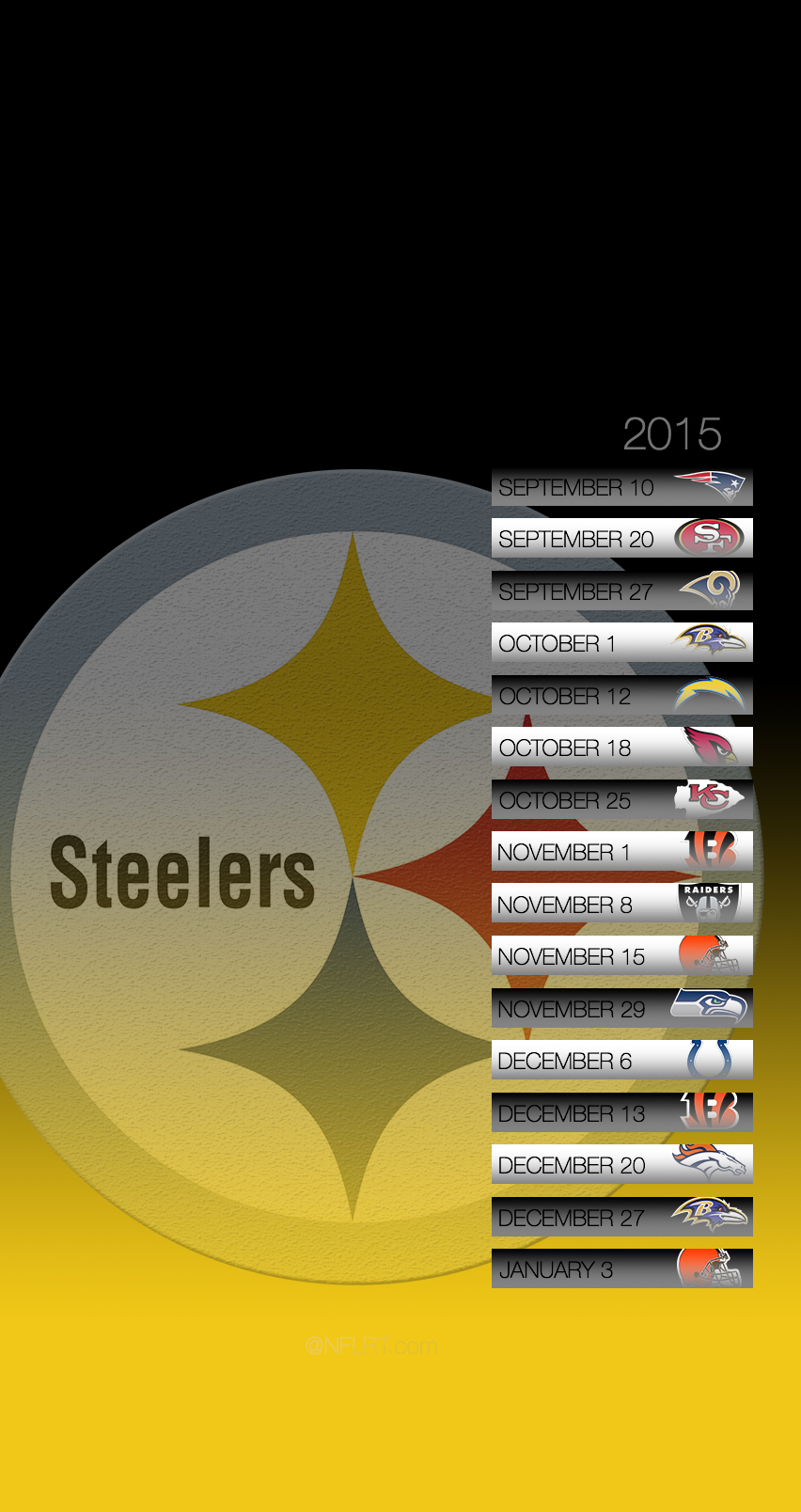 2015 NFL Schedule Wallpapers   Page 3 of 8   NFLRT 852x1608