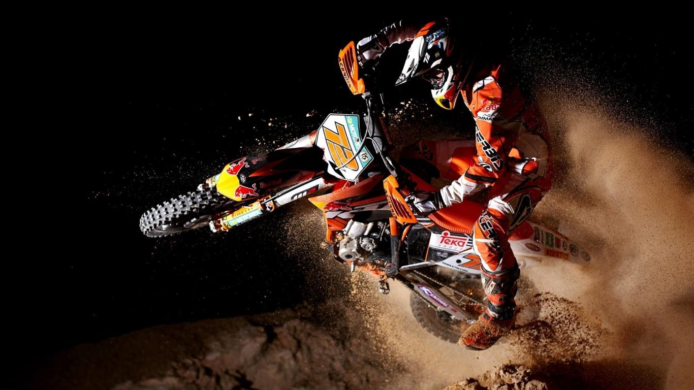 Ktm Red Bull Motocross Group Wallpaper HQ Backgrounds HD wallpapers 1366x768