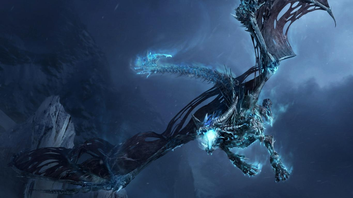 Cool Dragon Backgrounds 1366x768