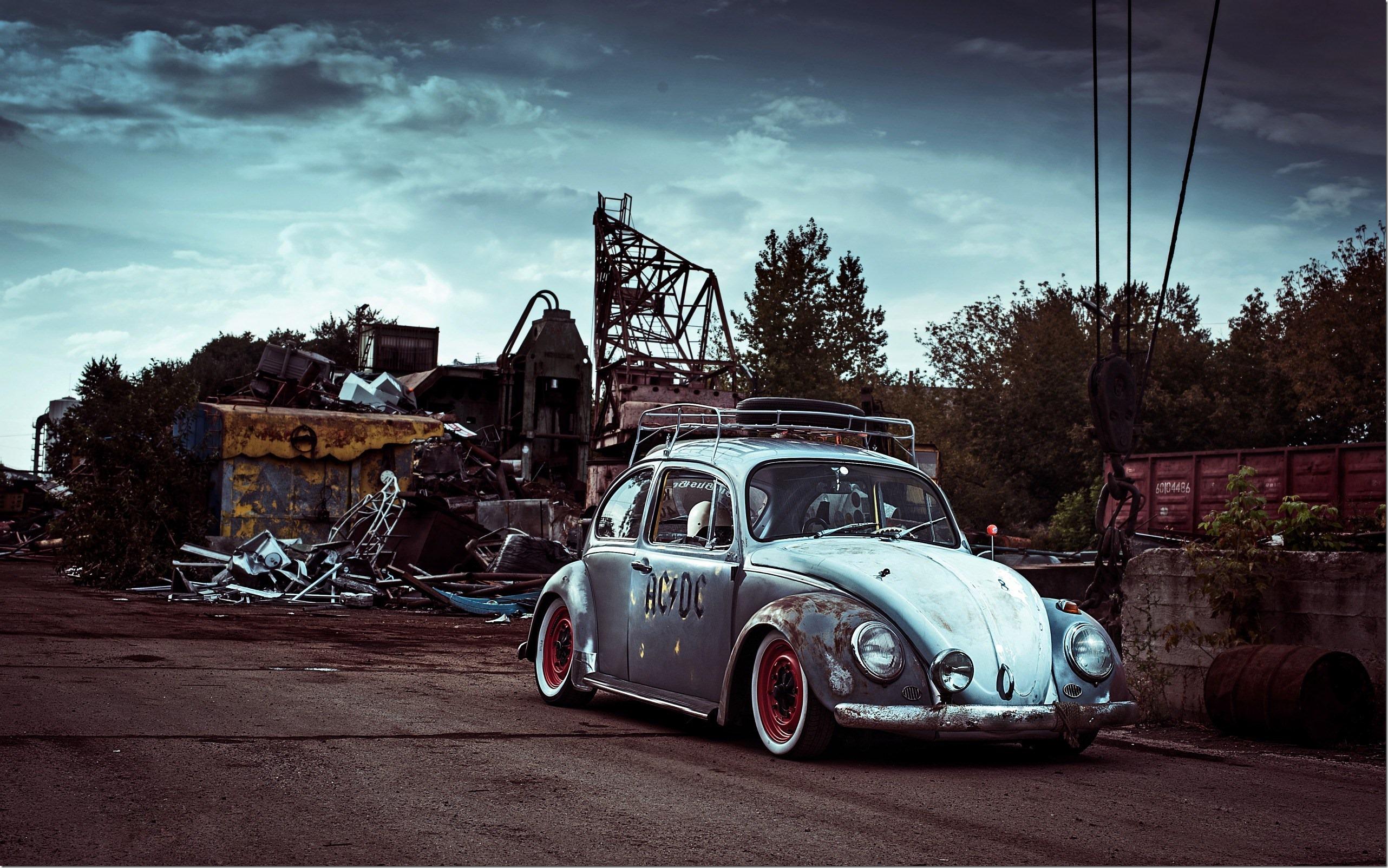 car volkswagen beetle hd wallpaper 2564x1604