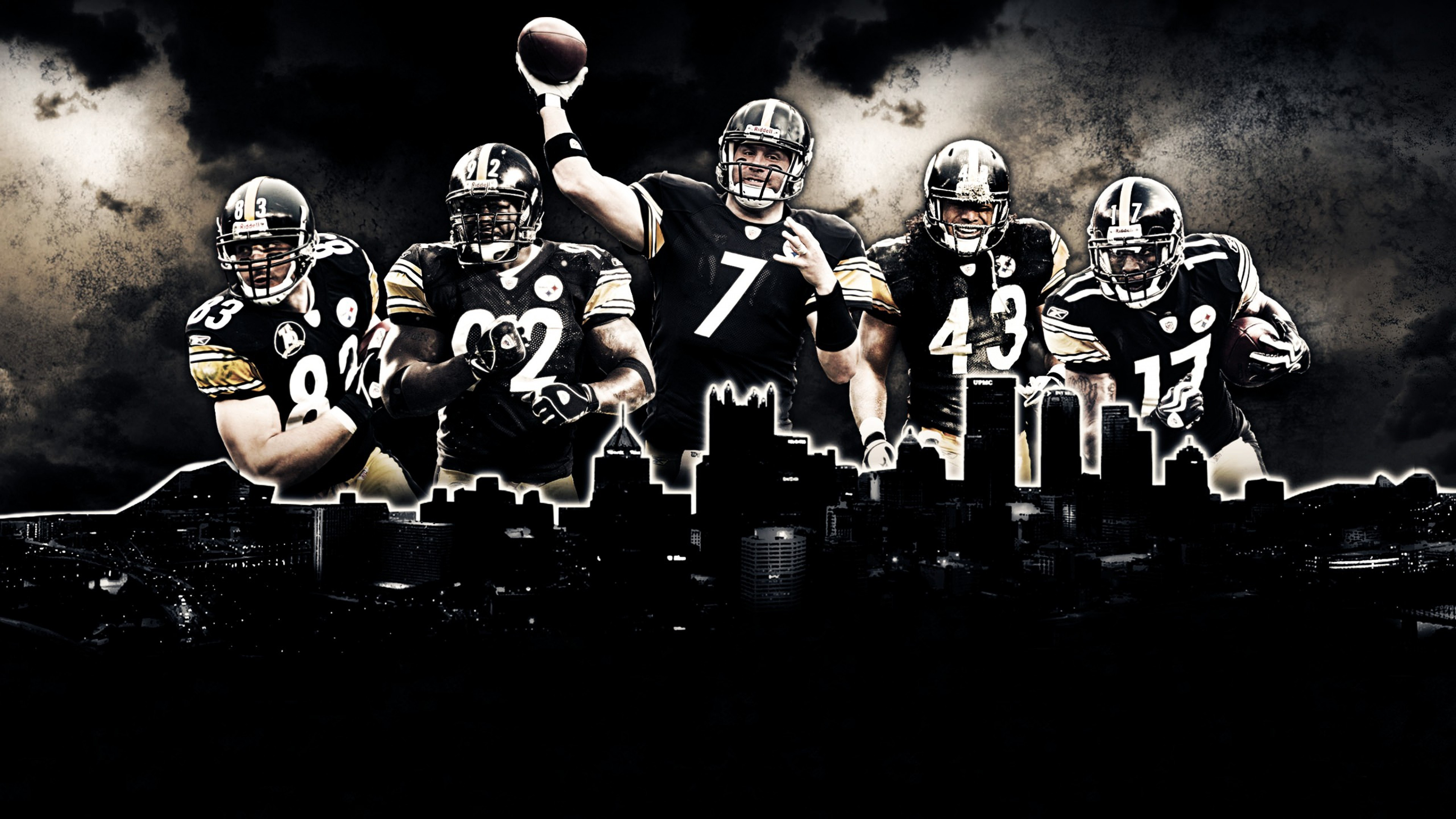 Nfl Wallpapers HD Team Pittsburgh Steelers Desktop Wallpapers HD 3840x2160
