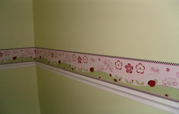 Wallpaper Borders For Bathroom Wallpaper Borders For Girls Bathrooms 612x391