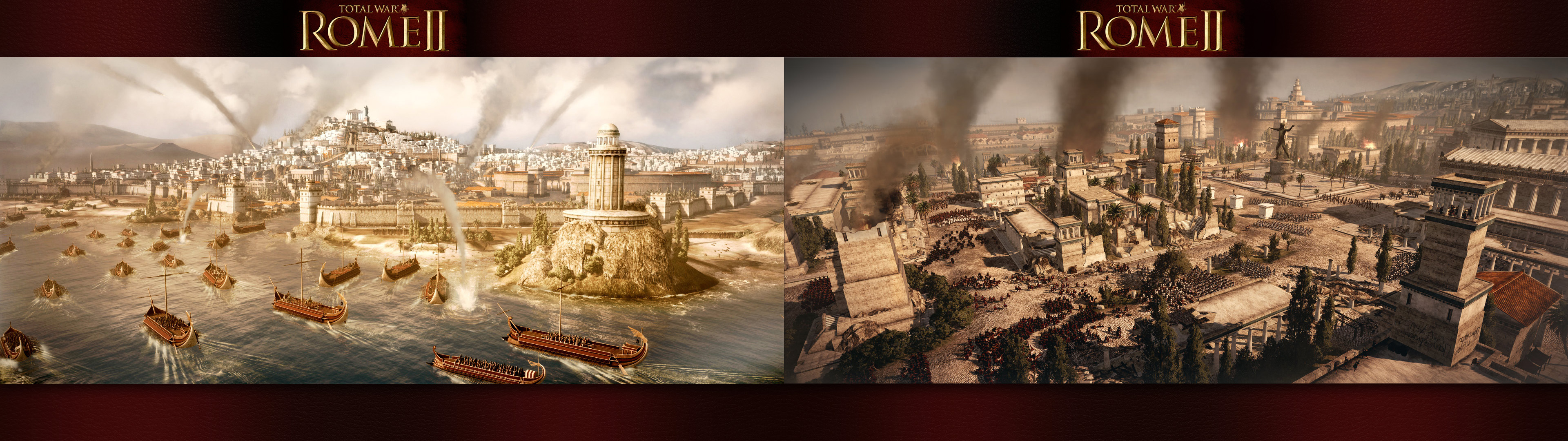 Rome 2 Total War Wallpapers by Garsondee 3840x1080