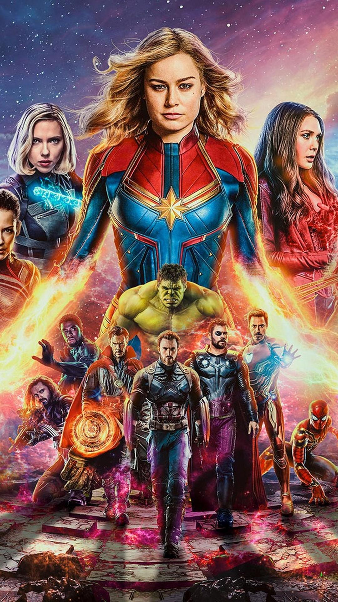 Avengers Endgame iPhone Wallpaper 2019 3D iPhone Wallpaper 1080x1920