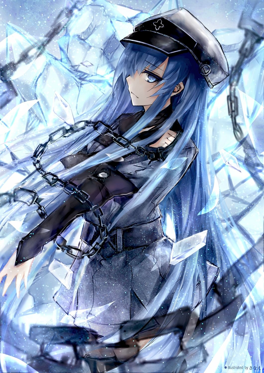 Free Download Akame Ga Kill Esdeath Awesome Wallpaper Anime