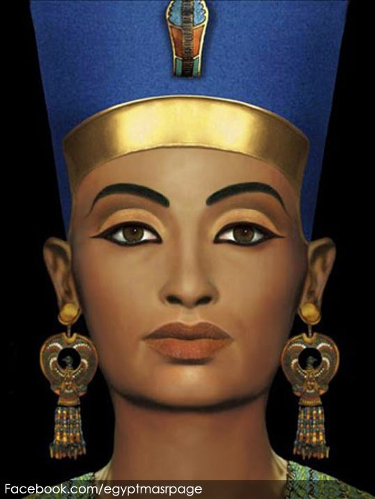 Free download Image Egyptian Queen Nefertiti Art Download [538x717