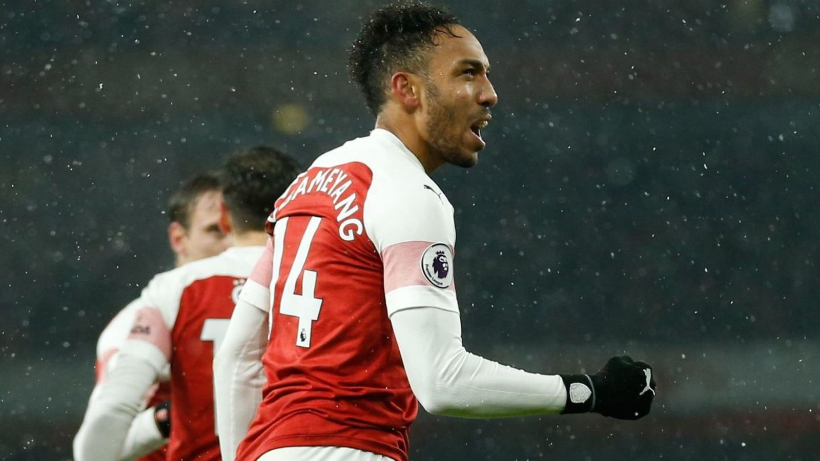 Pierre emerick Aubameyang Insists He Works Best As   Arsenal 1600x900