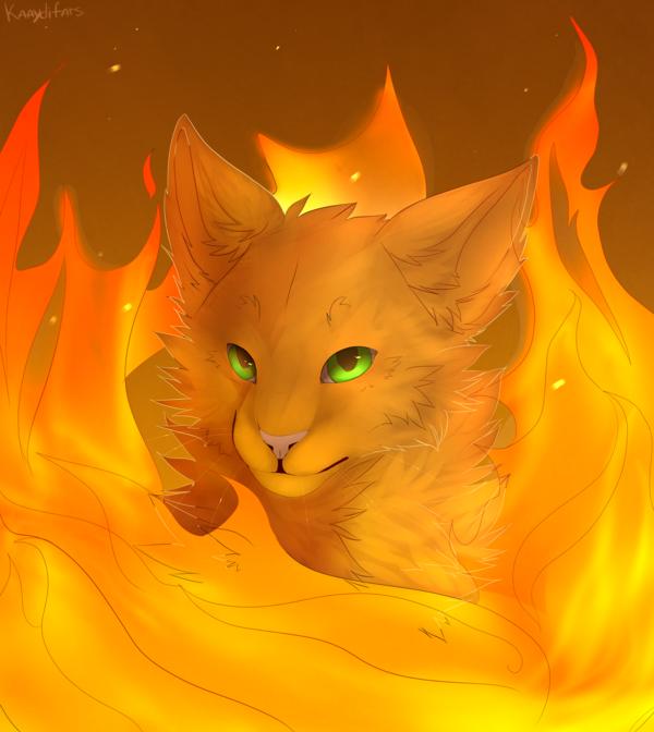 Go Back Gallery For Warriors Cats Wallpaper Firestar 600x672