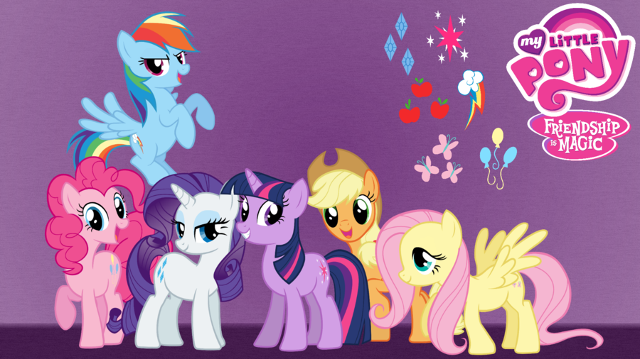 android mane 6 wallpaper - photo #4