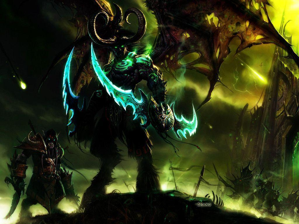 Free Download Illidan Stormrage Wallpapers 1024x768 For