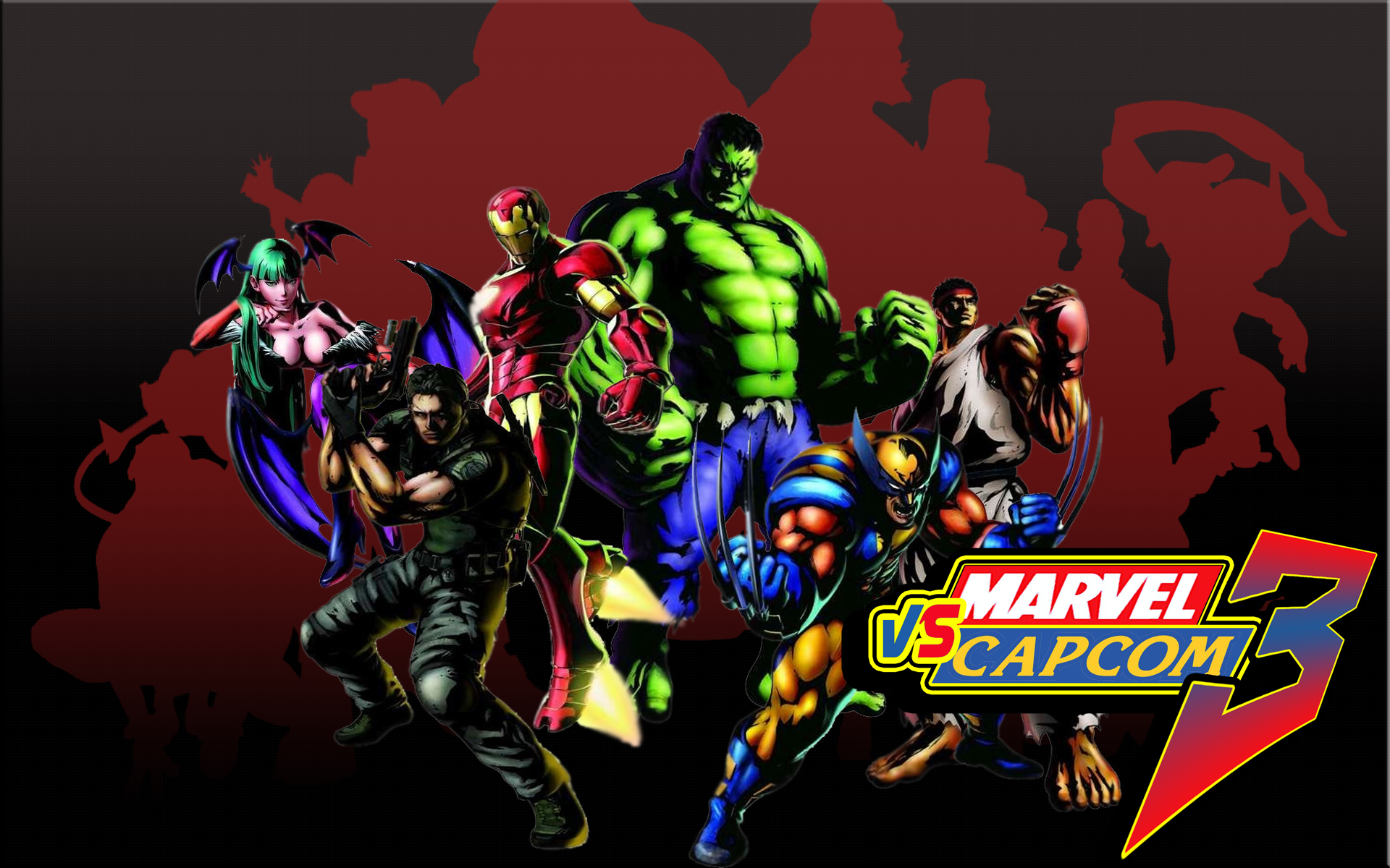 en este post les traigo unos wallpapers en HD de Marvel vs Capcom 3 1920x1200