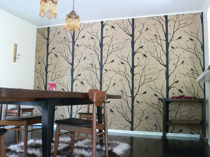 Walnut Wallpaper Paper Ideas For You decor8 711x533