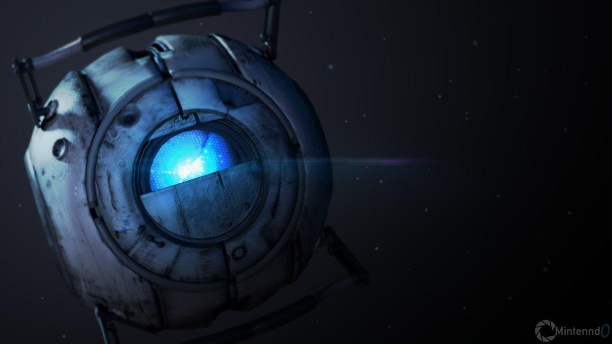 Wheatley Core   Portal 2 by Mintenndo 1191x670