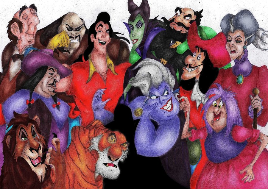 Free Download Disney Villains Part I By Gian16 900x635 For Your