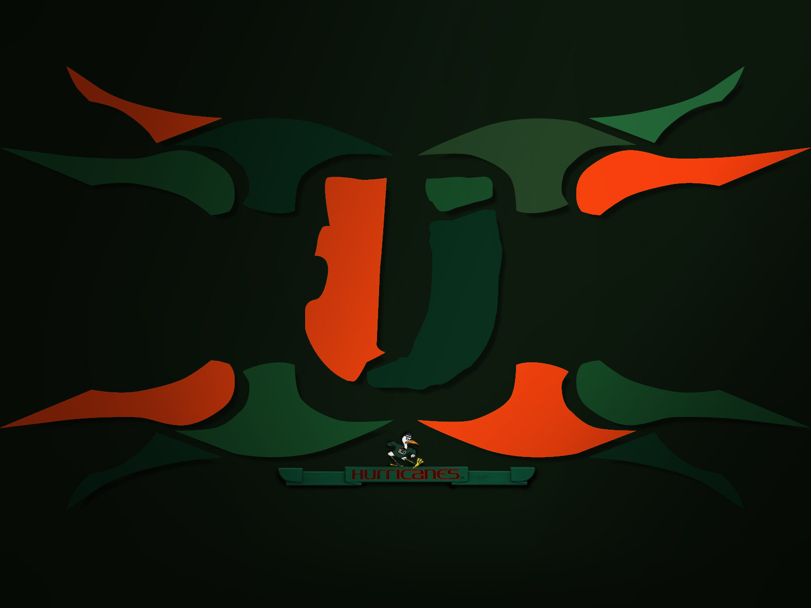 Miami Hurricanes revised by jso037 1600x1200