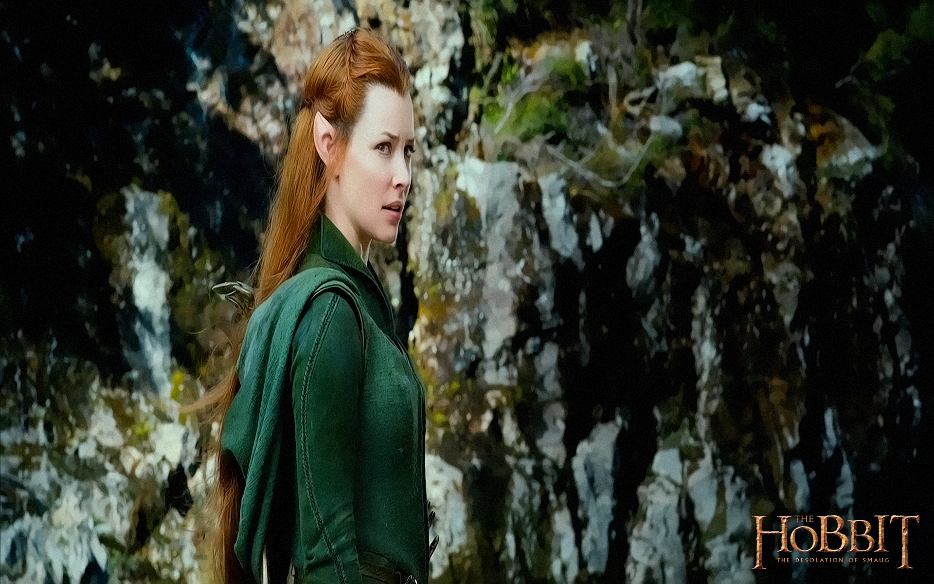 Evangeline Lilly The Hobbit Wallpapers 1920x1200