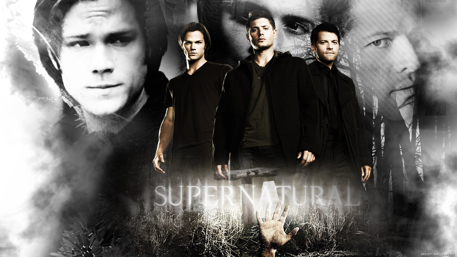 Supernatural Logo Wallpaper 1920x1080