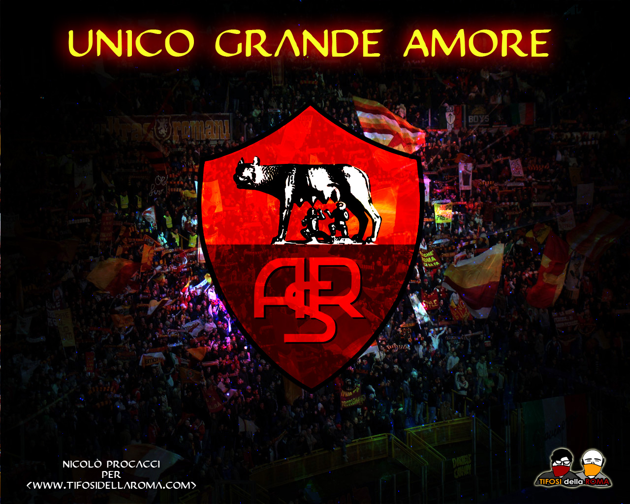 Pin As Roma Wallpaper 1280x1024