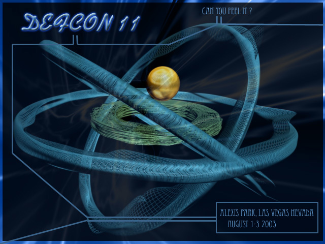 DEF CON 11 Wallpaper Icon Artwork 640x480
