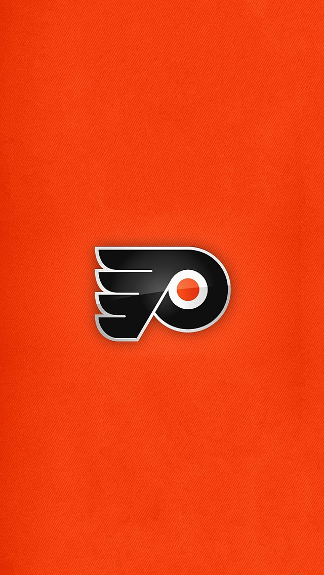 Flyers Logo Wallpaper Flyers logo wallpaper 640x1136