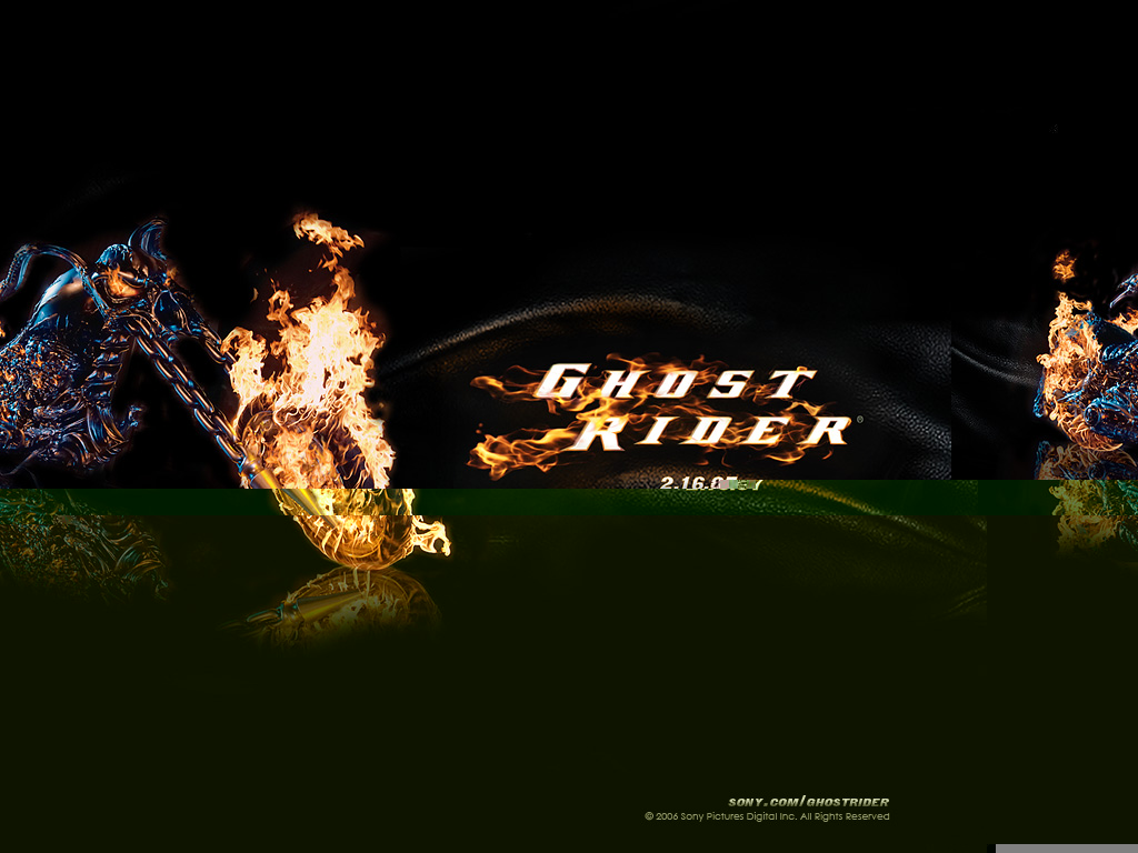 Wallpaper Title Ghost Rider 2 Wallpaper 1024x768