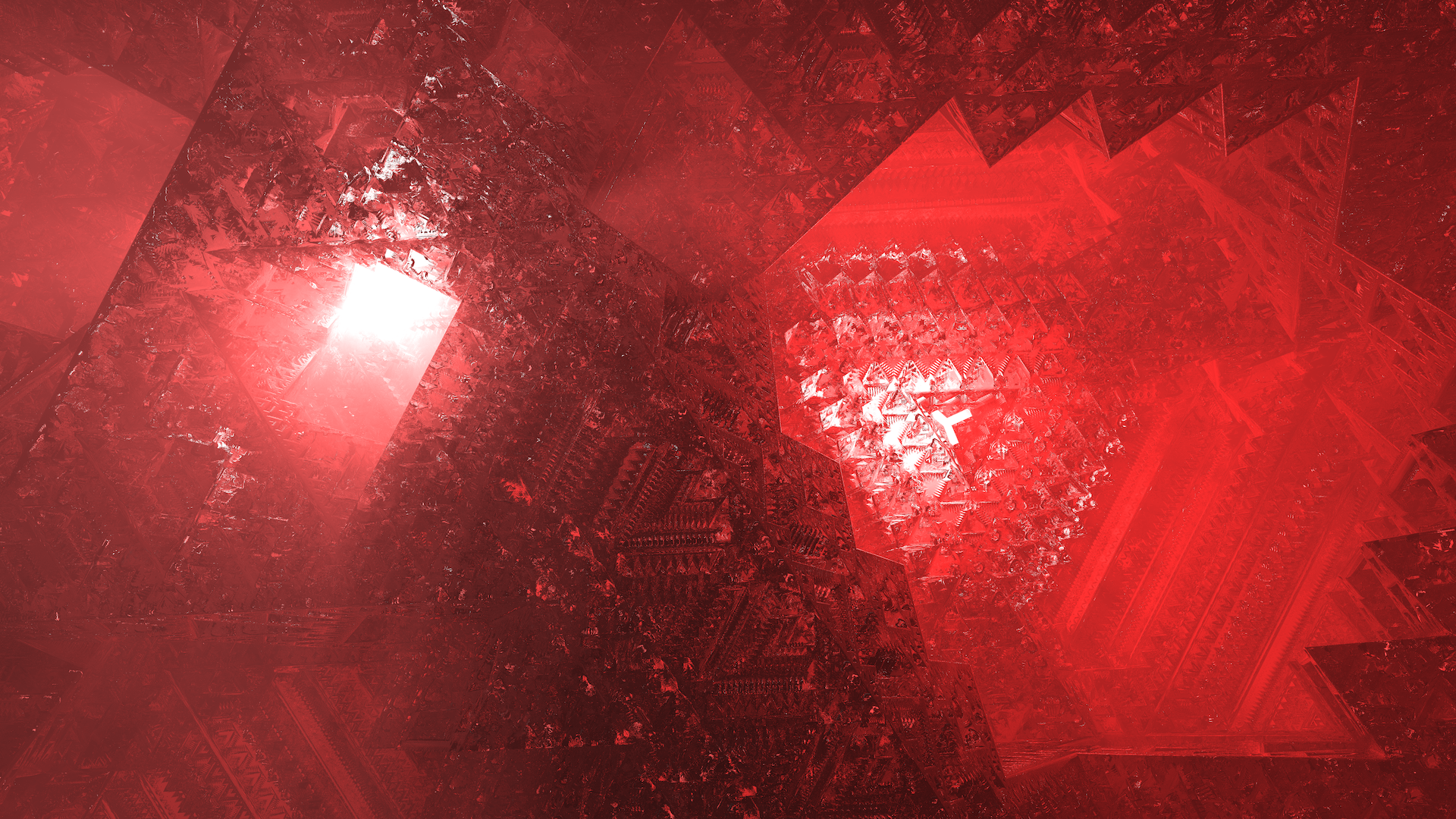 Here are Holocron and Holocron II my latest two 3d fractal 1920x1080