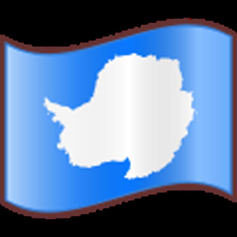 Graafix Flag of Antarctica 800x800
