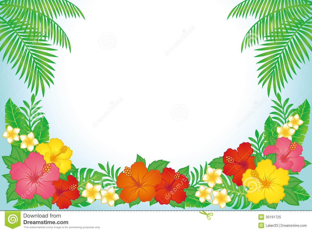 Hawaiian Powerpoint Template