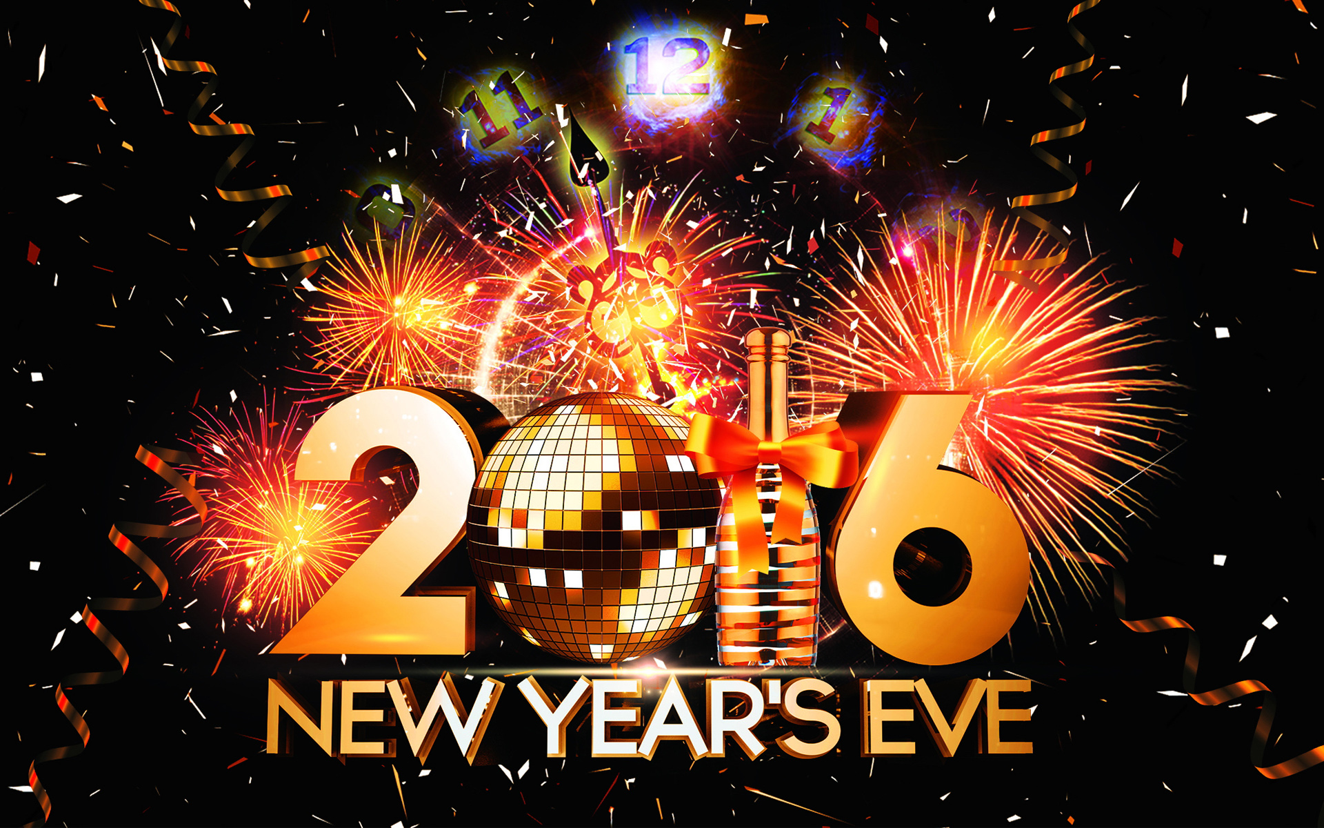 2016 New Year Eve Wallpapers HD Wallpapers 1920x1200