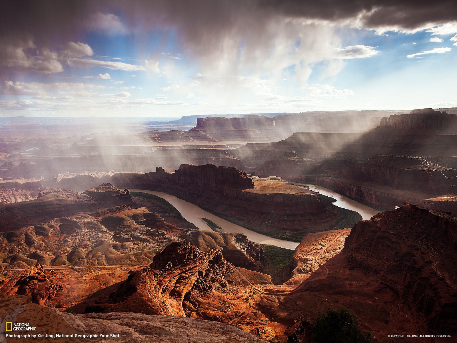 Dead Horse Point State Park Utah   National Geographic Travel Daily 1600x1200