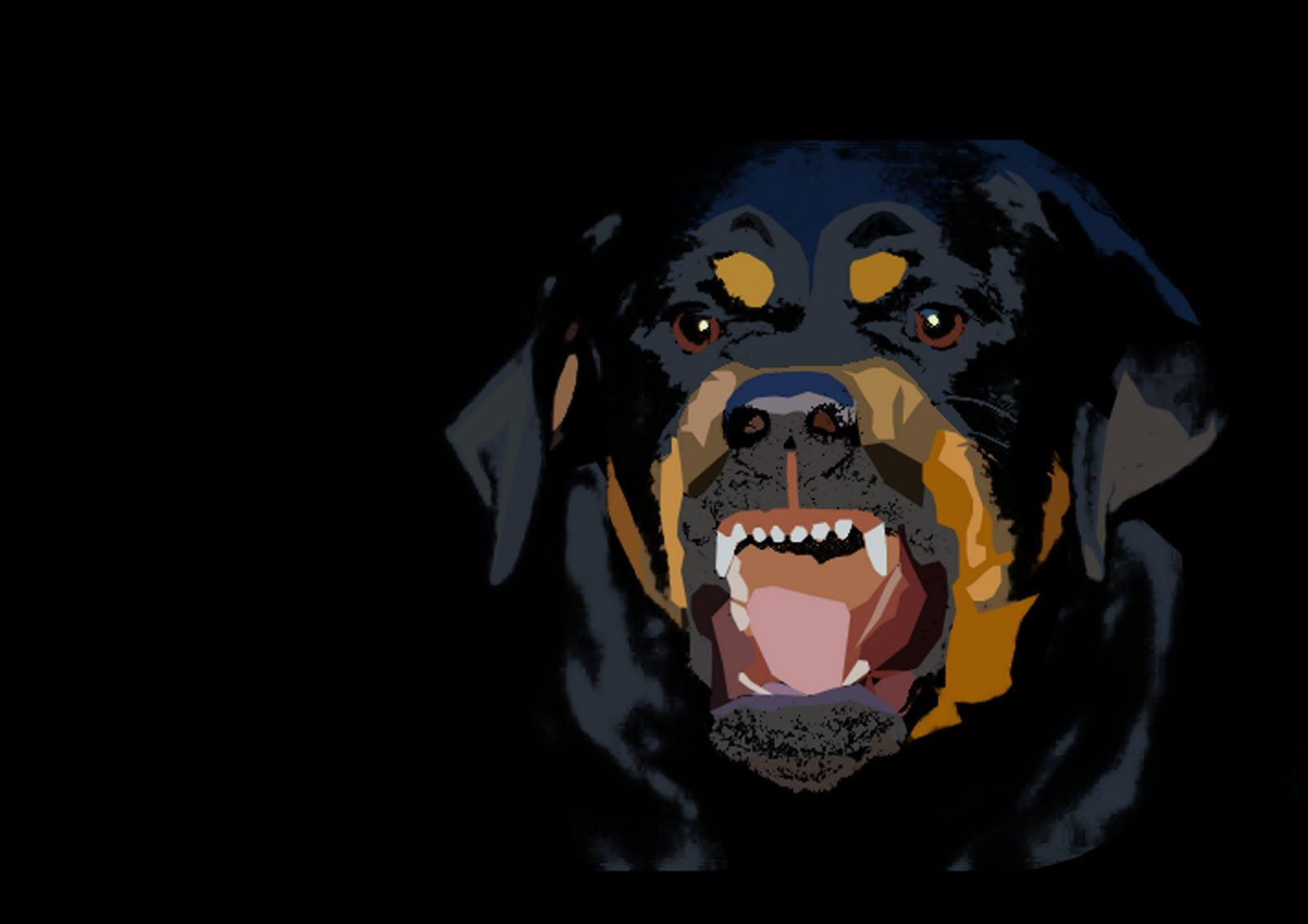 rottweiler wallpaper for my computer wallpapersafari