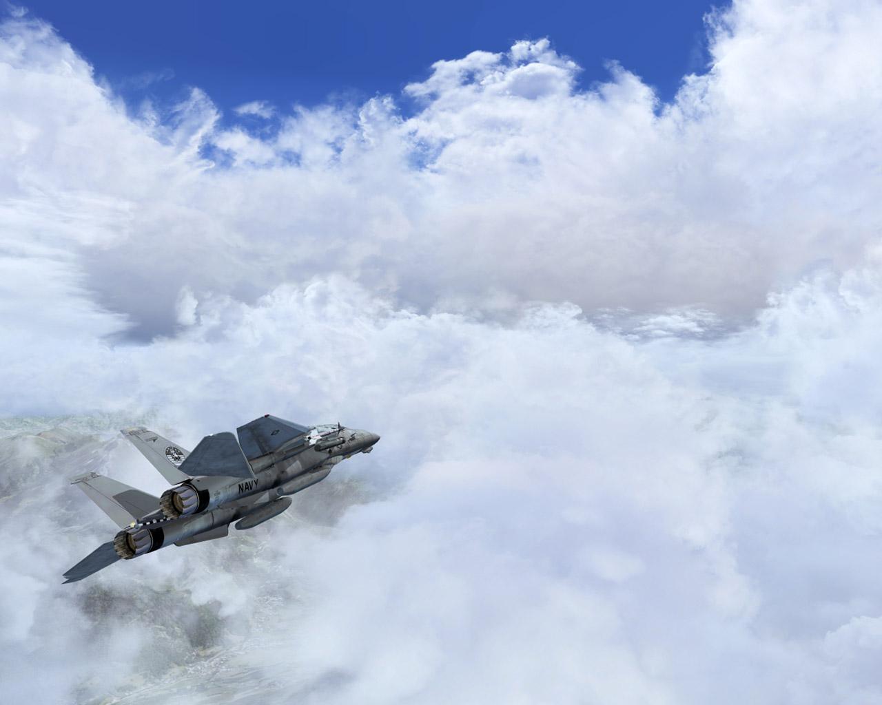 Flight Simulator X Wallpaper in 1280x1024 1280x1024
