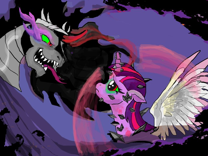 Twilight Sparkle  Queen of Shadows MLP fan fic by raggyrabbit94 on 800x600