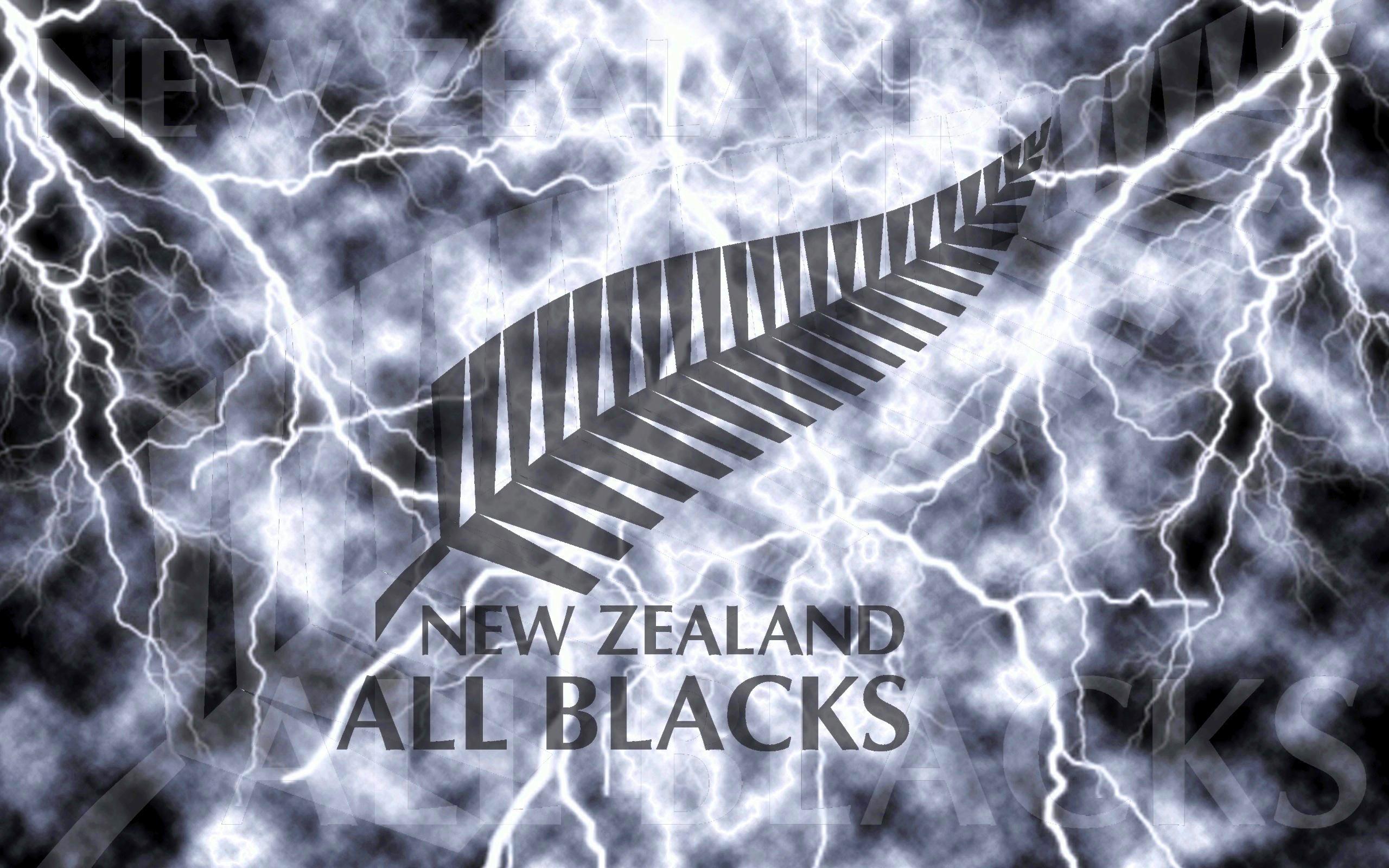 New Zealand All Blacks Lightning Wallpaper by Sunnyboiiii Flickr 2560x1600