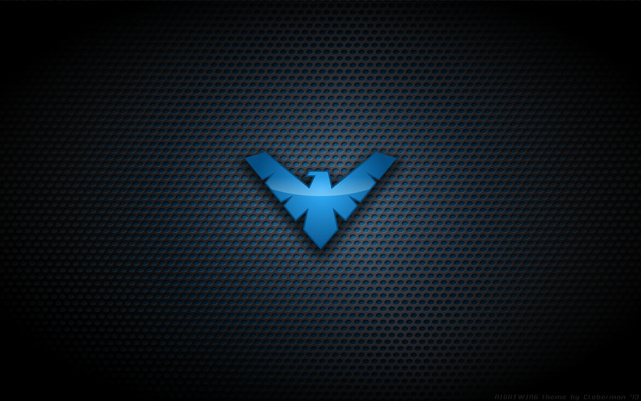 Wallpaper   Nightwing TNBA Logo by Kalangozilla 900x563