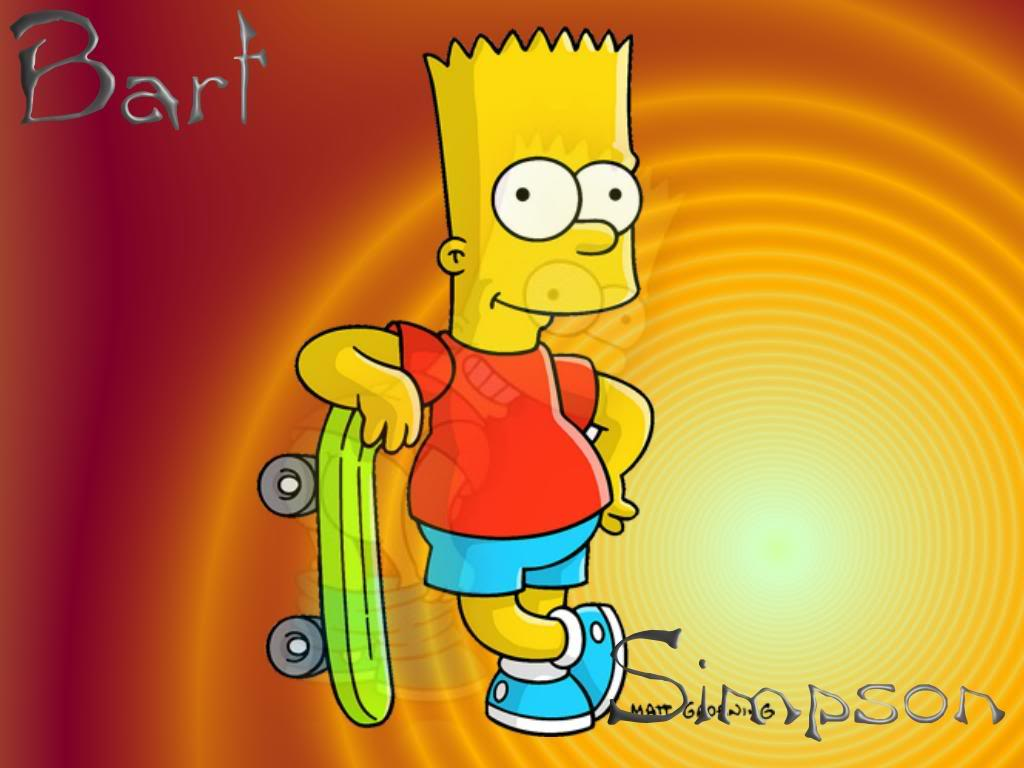 Bart Simpson Wallpaper Wallpaperholic 1024x768