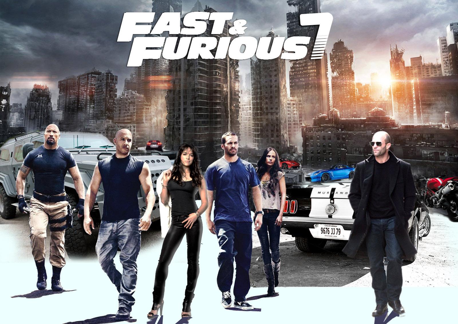 Fast And Furious 7 HD Wallpaper Download Desktop Wallpaper 1600x1131