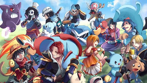 wallpaper of japanese manga series one piece the coolest one piece hd 512x288