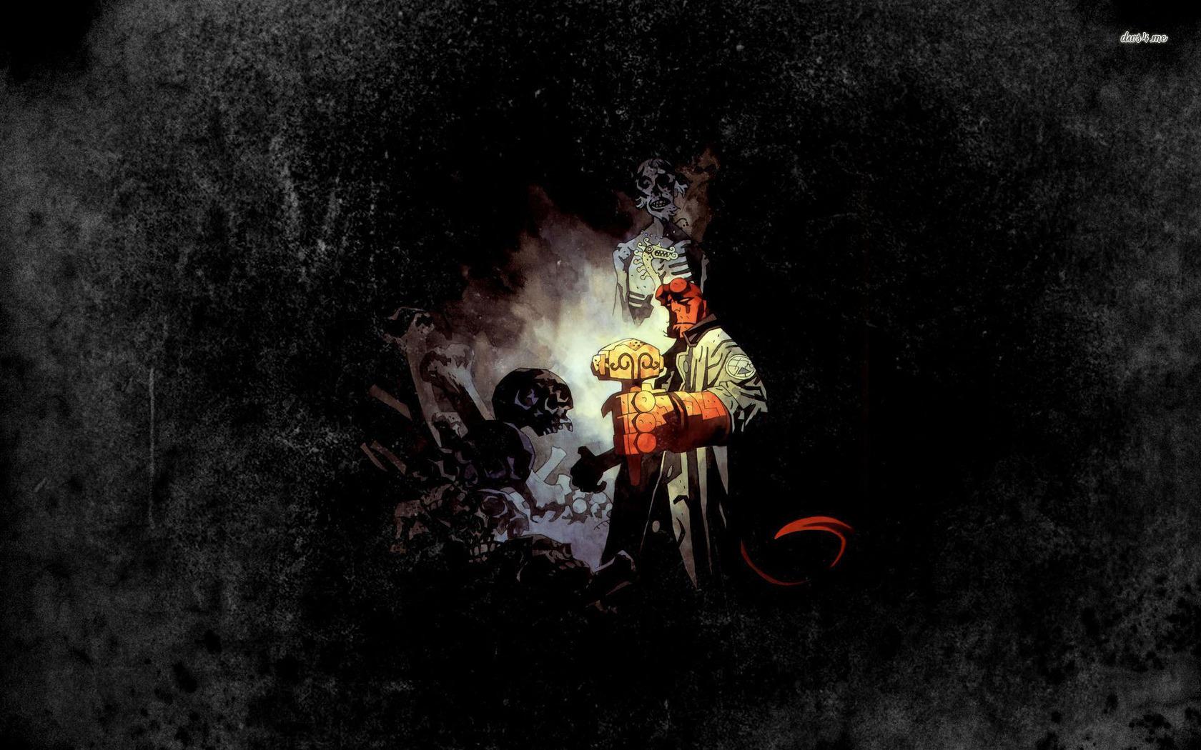 Hellboy wallpaper   Comic wallpapers   27036 1680x1050