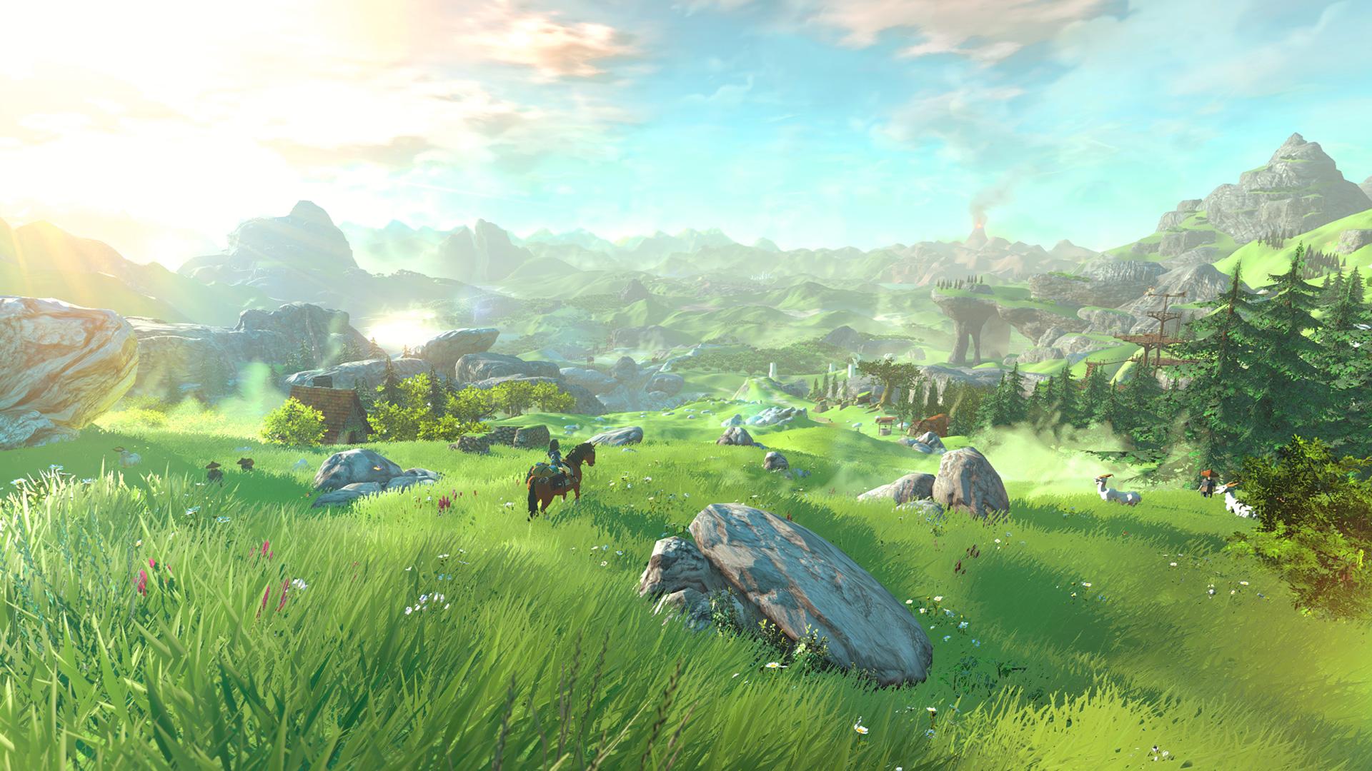 Legend Of Zelda Wii U 1080p Screenshots Game Usagi 1920x1080