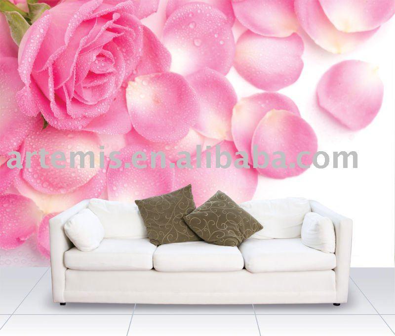 Best quality Wallpaper flower design 800x680