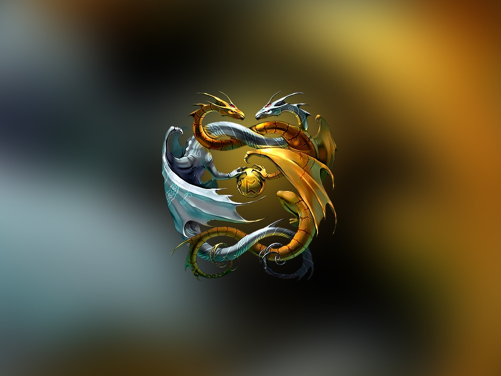 Similiar Tiger Dragon Yin Yang Wallpaper Keywords