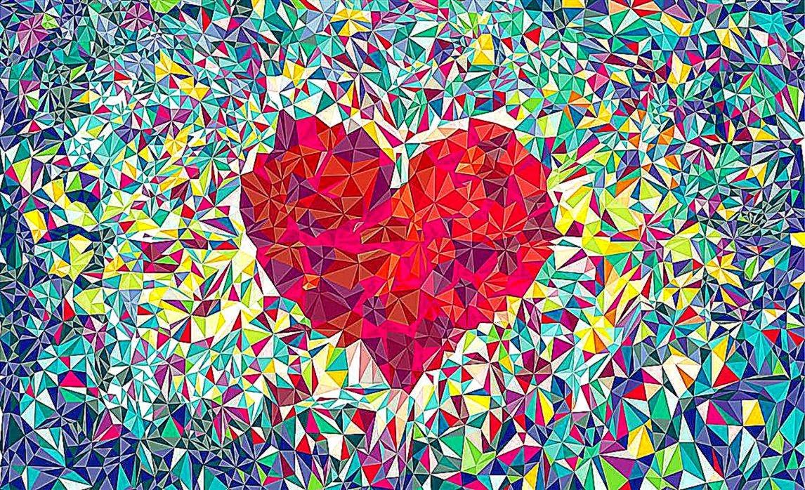 Cool heart wallpaper wallpapersafari - Best heart wallpaper hd ...