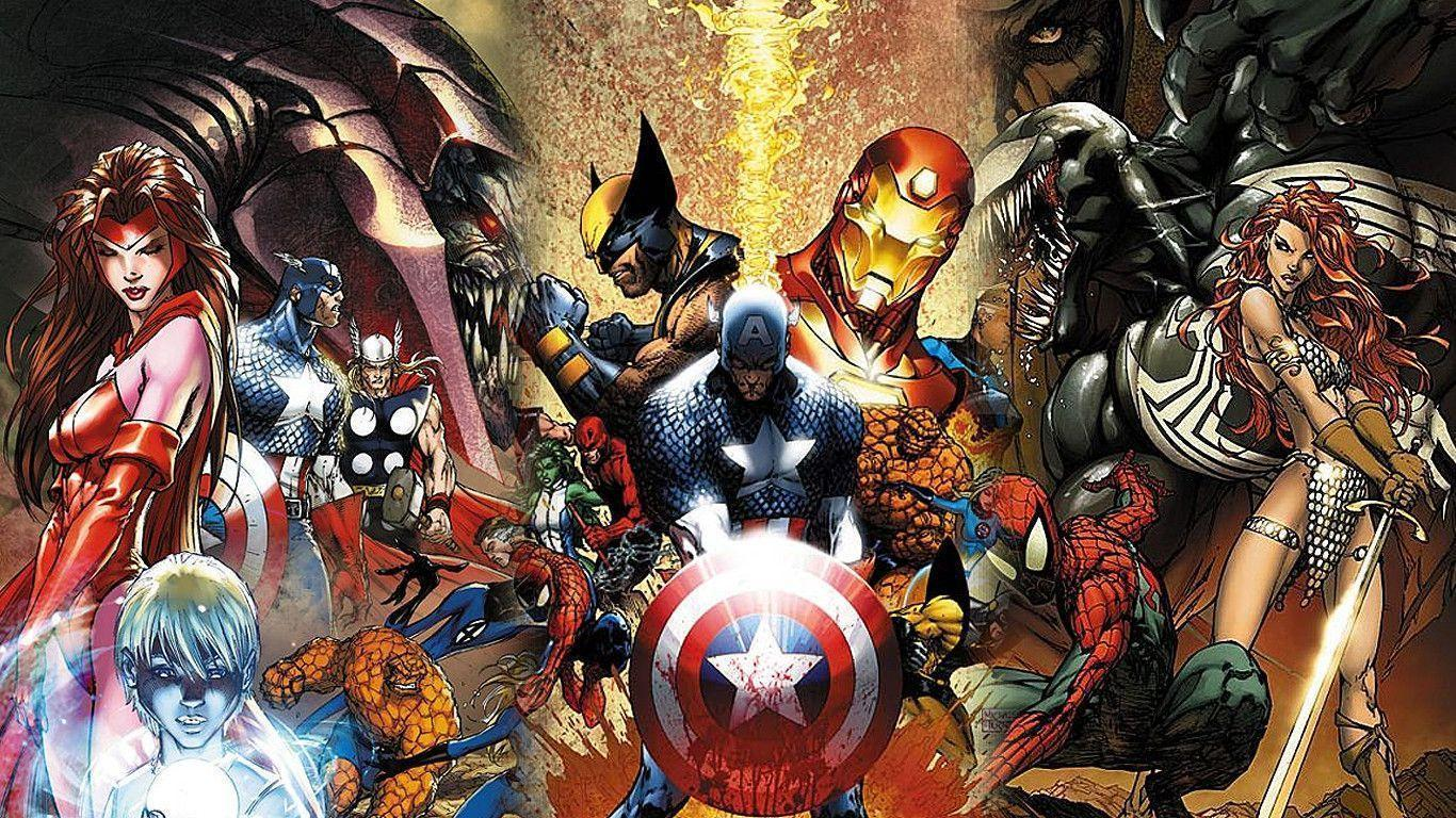 Marvel Wallpapers 1366x768