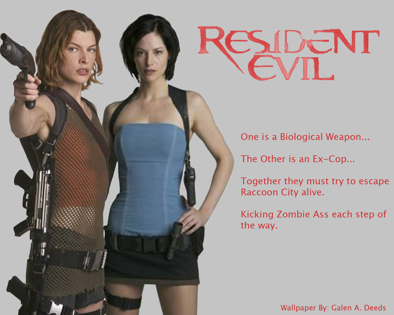 Resident Evil Wallpapers Wallpapers 1280x1024