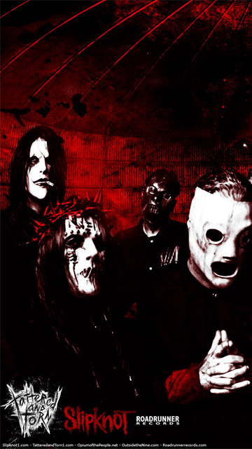 wallpaper Slipknot download wallpapers for your Nokia 5230 360x640
