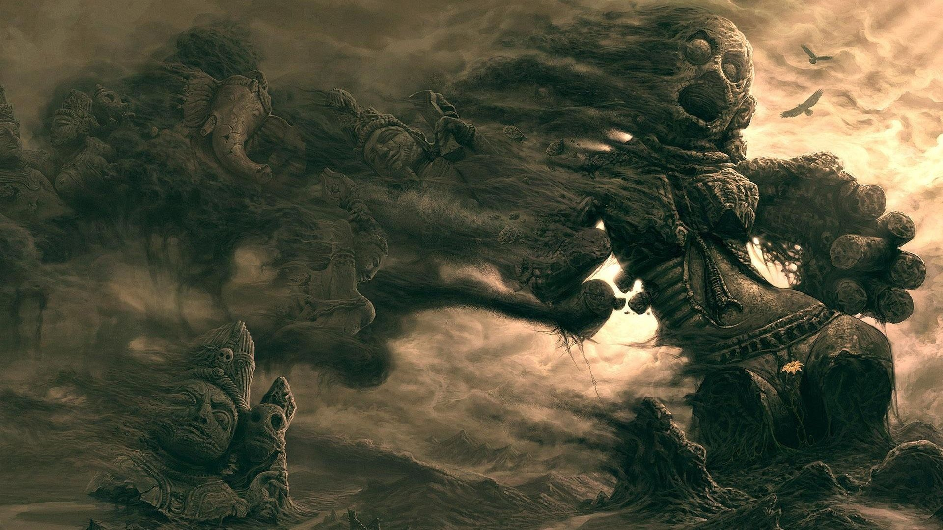 Gothic Dark Art 3D Great Abstract picture nr 60791 1920x1080
